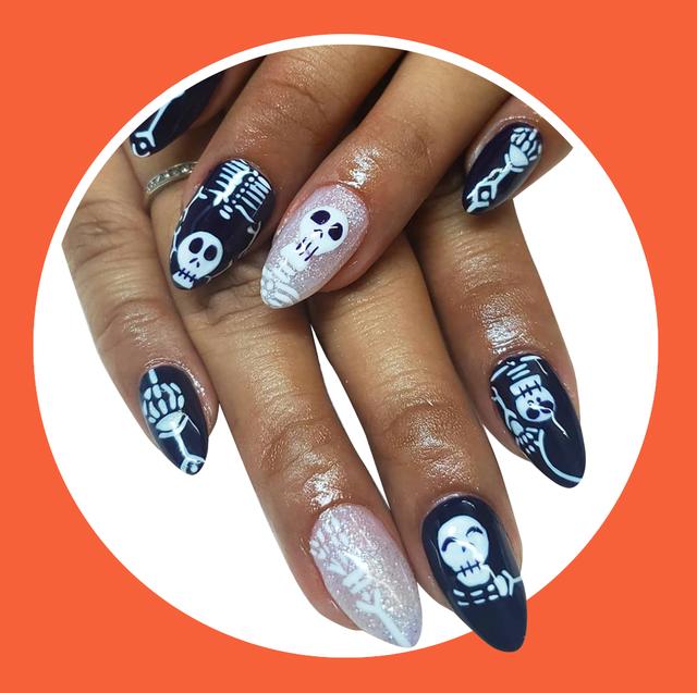 50 Non Cheesy Halloween Nail Art Ideas To Try