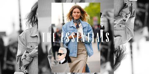 the essentials jean jacket