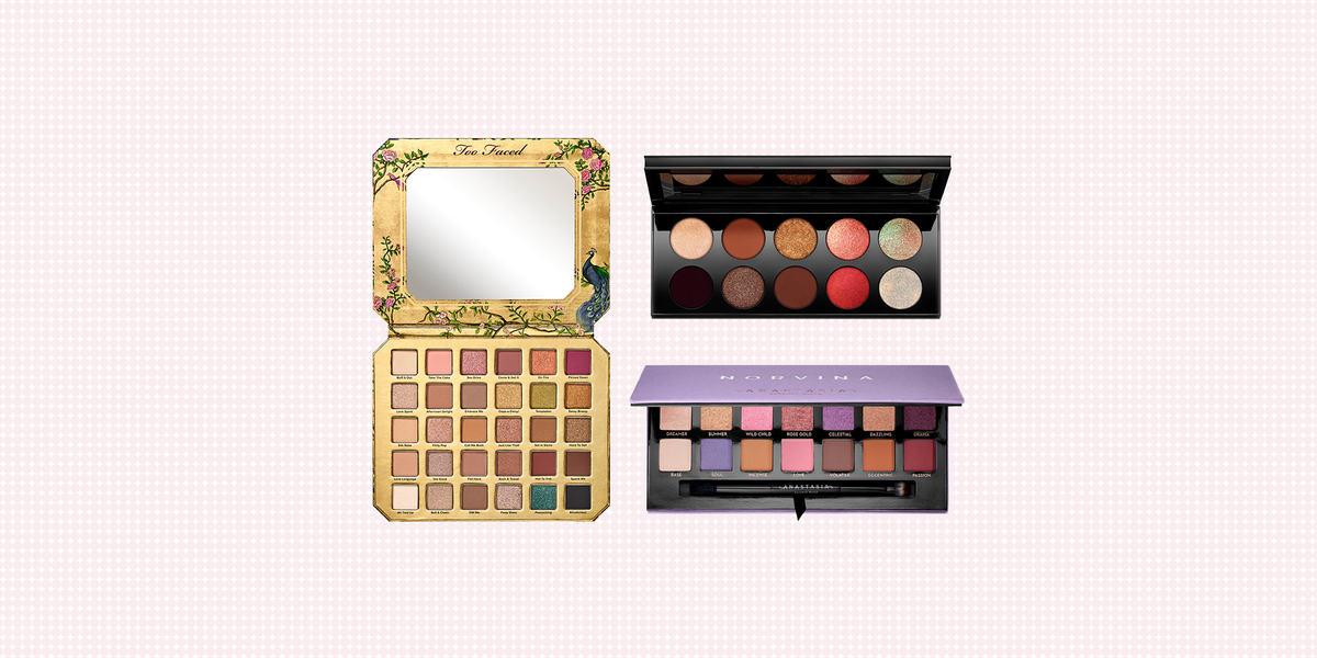 Beauty By Berrz: My 5 Most Used Eyeshadow Palettes