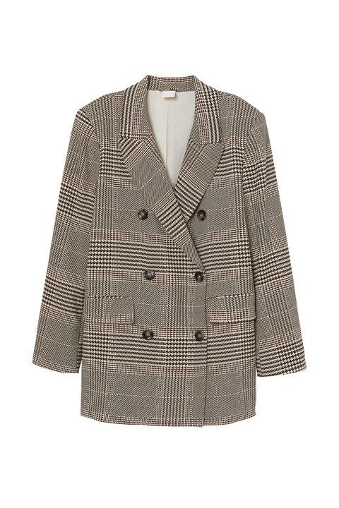 Clothing, Outerwear, White, Blazer, Jacket, Sleeve, Top, Coat, Beige, Robe,