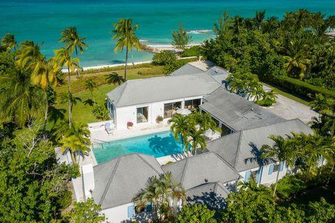 charming lyford cay beachfront home