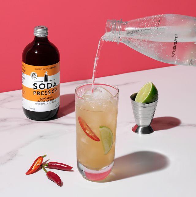 soda press薑汁汽水
