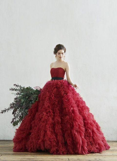 エーバイハツコエンドウのカラードレス