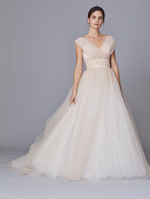 ミーチェのペールトーンドレス