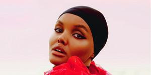 Halima Aden somali model - halima elle cover