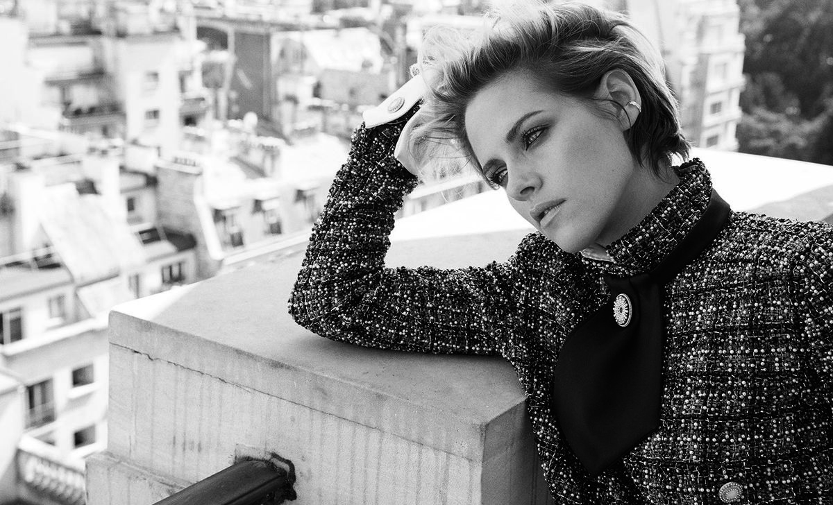 Kristen Stewart on looking ahead - harpersbazaar.com