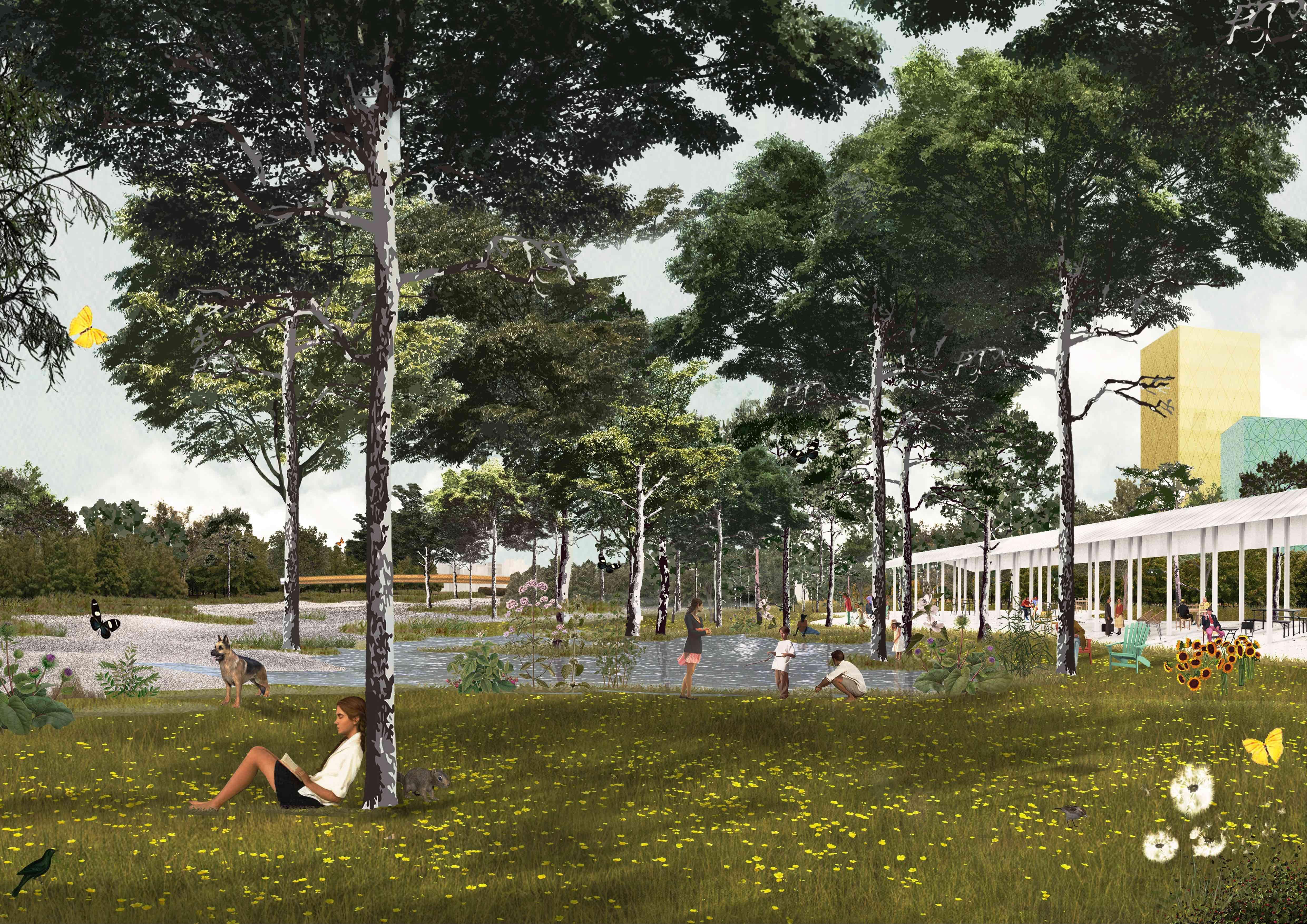 OMA and Laboratorio Permanente Win the Concorso Farini for Milan's New Natural Hubs