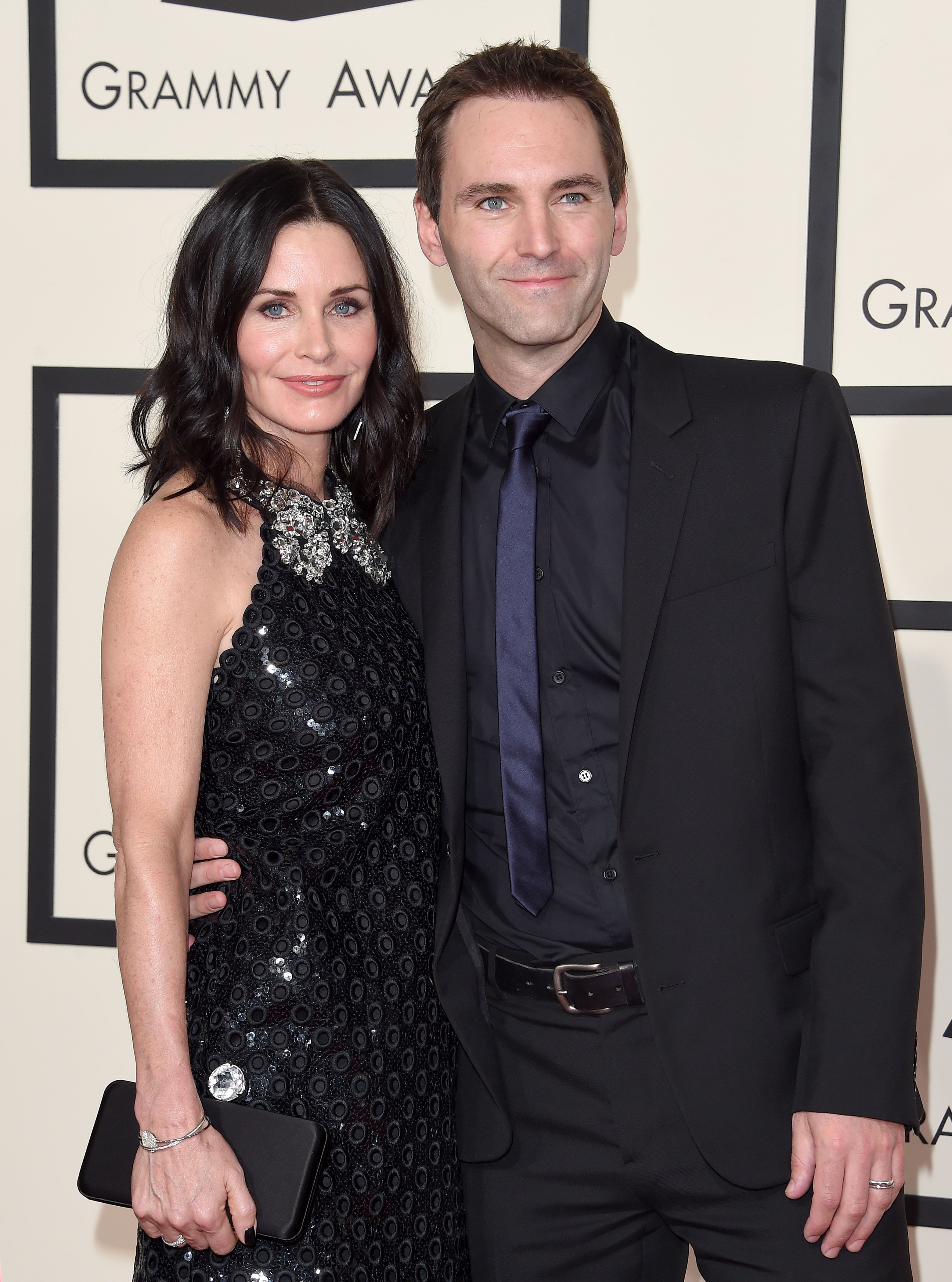 "Courteney Cox and Johnny McDaid These two were set up by Grammy-winning artist Ed Sheeran of all people. ""My housemate [Snow Patrol's Johnny McDaid] who I've lived with for a year, I introduced him to Courteney Cox. They started dating and [are] crazy about each other,"" Sheeran told Yahoo ."