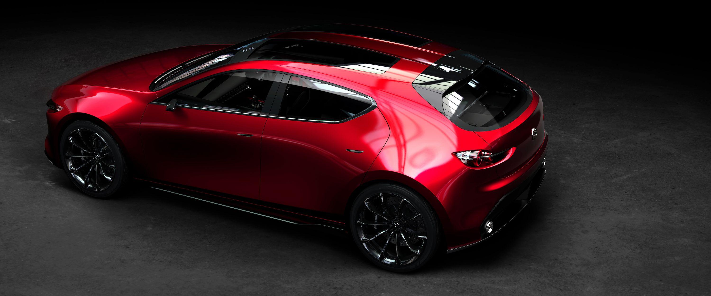 mazda kai concept - 2020 mazda 3 hatchback previewed at tokyo