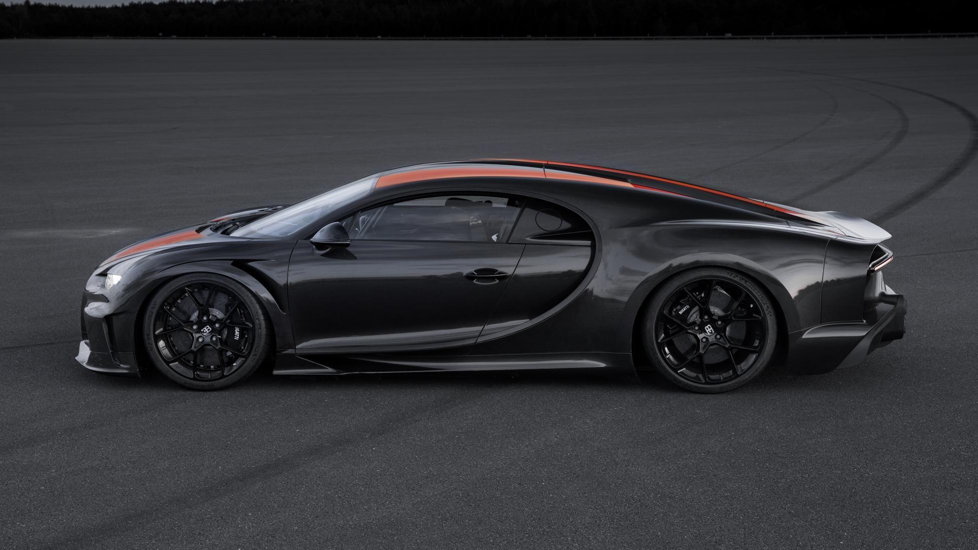 Bugatti Breaks 300 MPH