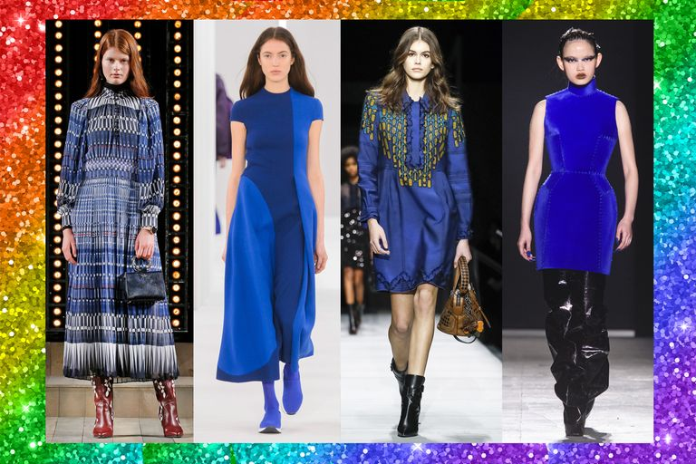 I vestiti di moda autunno inverno 2018 2019 sono arcobaleno for Moda autunno inverno 2018 colori