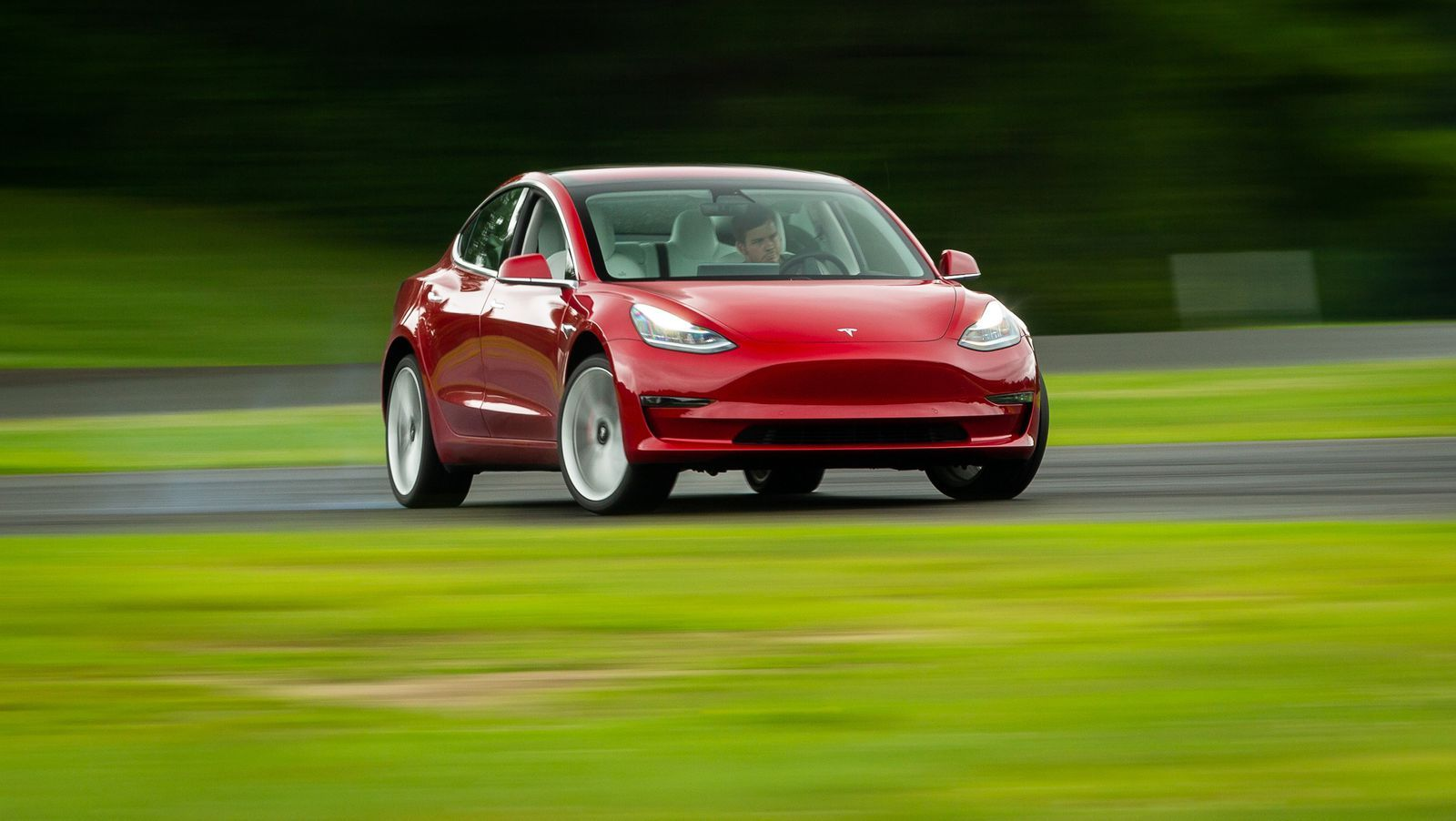 Tesla Model 3 Performance Track Test
