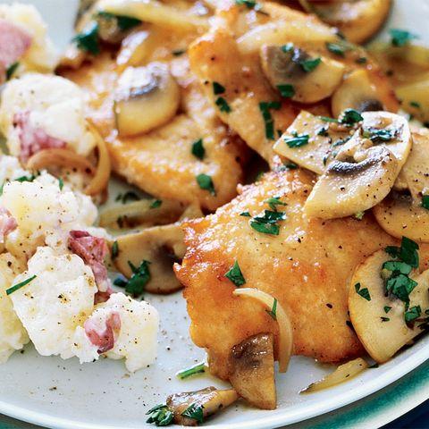 Low-Fat Healthy Recipe For Chicken Marsala