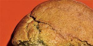 breakfast food banana muffin