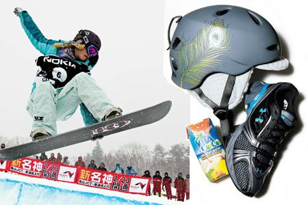The Snowboarder; Lindsey Jacobellis, 23