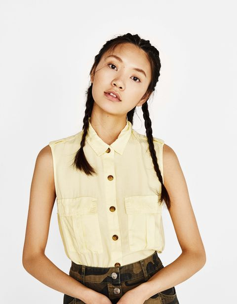Clothing, Suspenders, Neck, Child model, Photography, Gesture, Fashion accessory, Model, Black hair, Shirt,