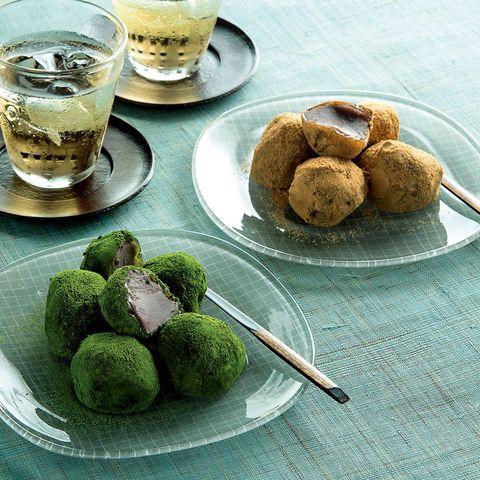 京菓子司 井津美屋 あんわらび詰合せ(きなこ・抹茶) 2,770円