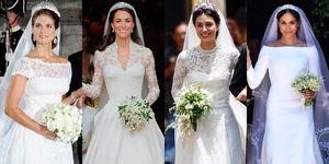 英國皇室婚禮, 英國皇室, 歐洲貴族, 凱特王妃, 梅根馬克爾, 歐洲皇室,Meghan Markle, Kate Middleton, 摩納哥王妃,皇室婚禮,婚紗,王妃,公主,結婚