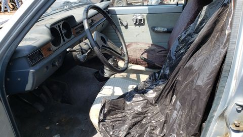 1980 mazda glc station wagon in colorado junkyard