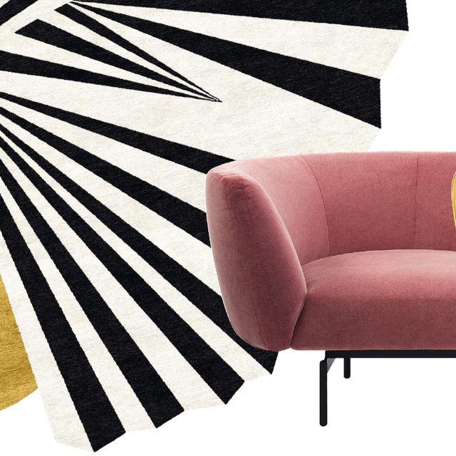 Couch, Line, Amber, Beige, Tan, Rectangle, Material property, Liver, Armrest, Design,