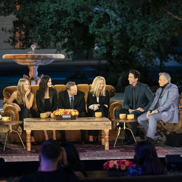 for the first time in 17 years, the cast of friends reunites for a special celebration of the beloved, smash hit comedy series taped on the original soundstage, friends the reunion finds jennifer aniston, courteney cox, lisa kudrow, matt leblanc, matthew perry, and david schwimmer joined by moderator james corden and a star studded roster of special guests as they relive the show's fan favorite and unforgettable moments this once in a lifetime special event honors the iconic series, which continues to permeate the zeitgeist today, with a hilarious and heartfelt night full of laughter and tears could we be any more excited