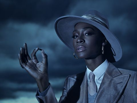 american horror story double feature — pictured angelica ross as the chemist  cr frank ockenfelsfx