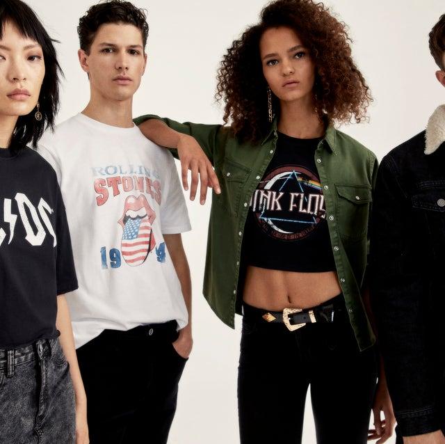 Fashion, T-shirt, Jeans, Photo shoot, Musical ensemble,