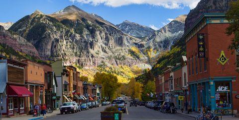artsy small towns telluride colorado