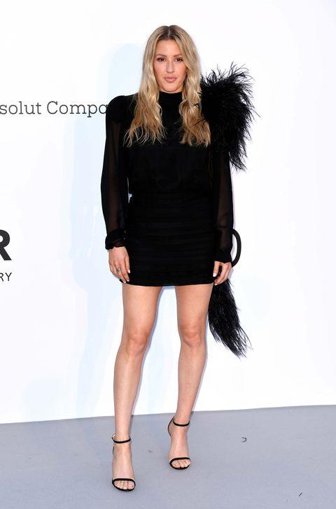 904d9fd39 Los vestidos negros de fiesta de las famosas - El vestido negro es ...