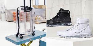 Nike, NikeLab, 一週時尚熱搜單品, 世界盃足球賽, 世足賽, 腰包,Off-White X RIMOWA,行李箱,Off-White,透明行李箱,登機箱