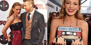女星穿搭, 布蕾克萊芙利 , 情侶穿搭, 死侍, 死侍2,萊恩雷諾斯,約會,造型,Blake Lively, Ryan Reynolds, 花邊教主