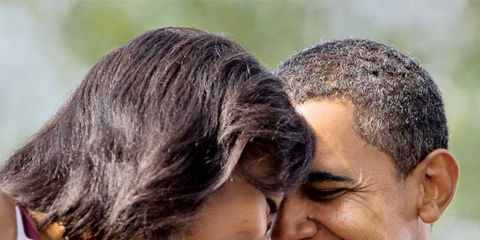 Obama's Life Lessons: Michelle and Barack Smile