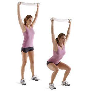 ultimate fitness overhead squat