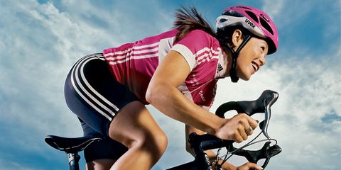 get in shape with cycling