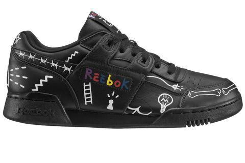 Shoe, Footwear, Black, Outdoor shoe, Sneakers, Walking shoe, Product, Athletic shoe, Bicycle shoe, Cycling shoe,