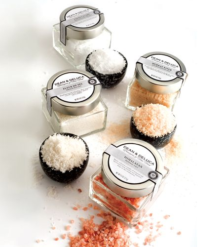 Christmas gifts: gourmet salts