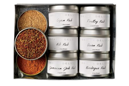 Christmas gifts: spice collection