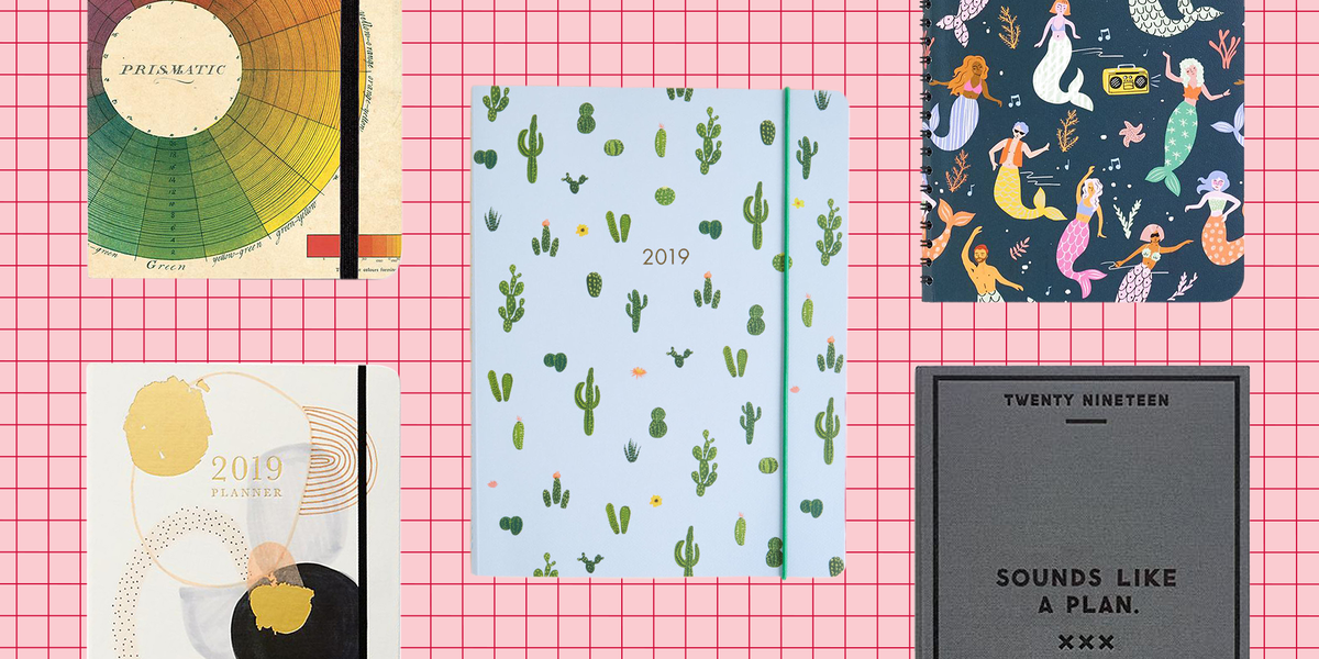 14 best planners 2019 cute agenda calendars under 50 to get