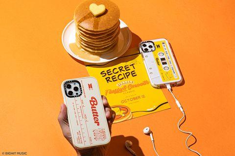 防彈少年團bts x casetify聯名款〈butter〉iphone13手機殼