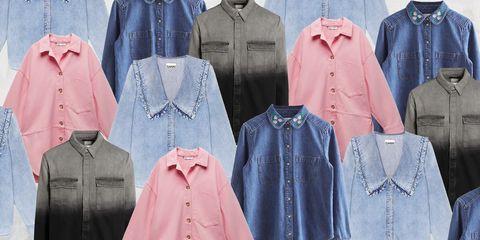 denim shirts for women