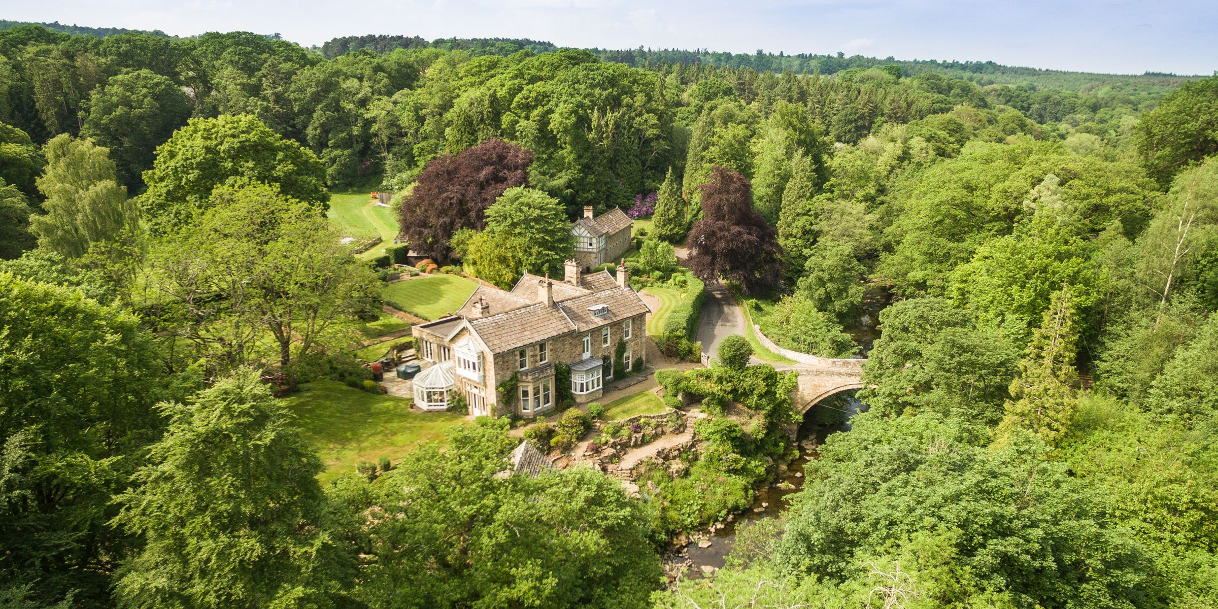 Northumberland country house for sale