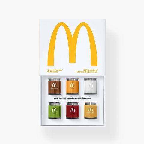麥當勞推出「漢堡口味」香氛蠟燭!讓人越聞越餓的味道⋯ 這樣怎麼減肥啦