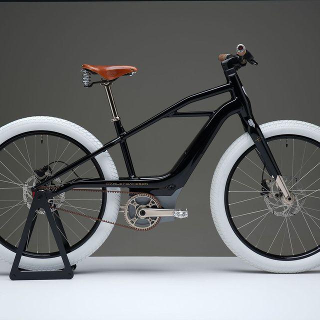 bicicleta eléctrica de harley davidson diseño y características