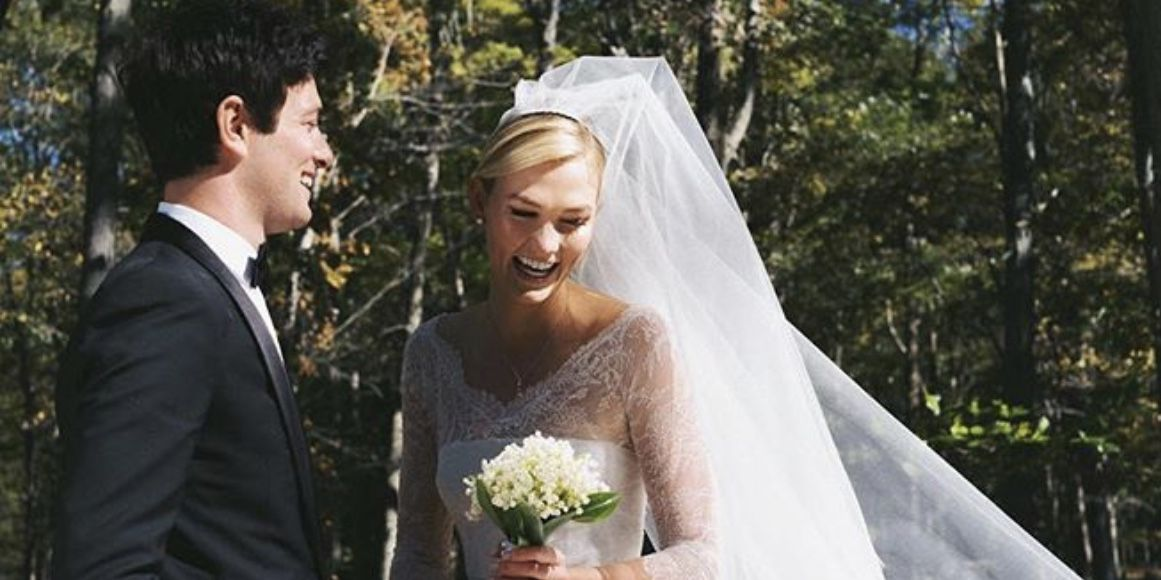 Karlie Kloss Just Announced She and Joshua Kushner Are Married With Wedding Shot