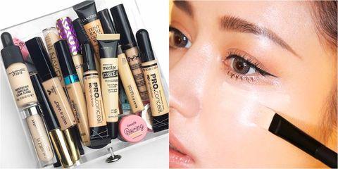 Face, Eyebrow, Product, Beauty, Eye shadow, Skin, Cosmetics, Eyelash, Eye, Cheek,