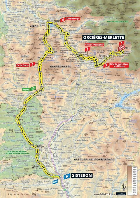 Tour De France 2020 Stage 4 Preview And Map
