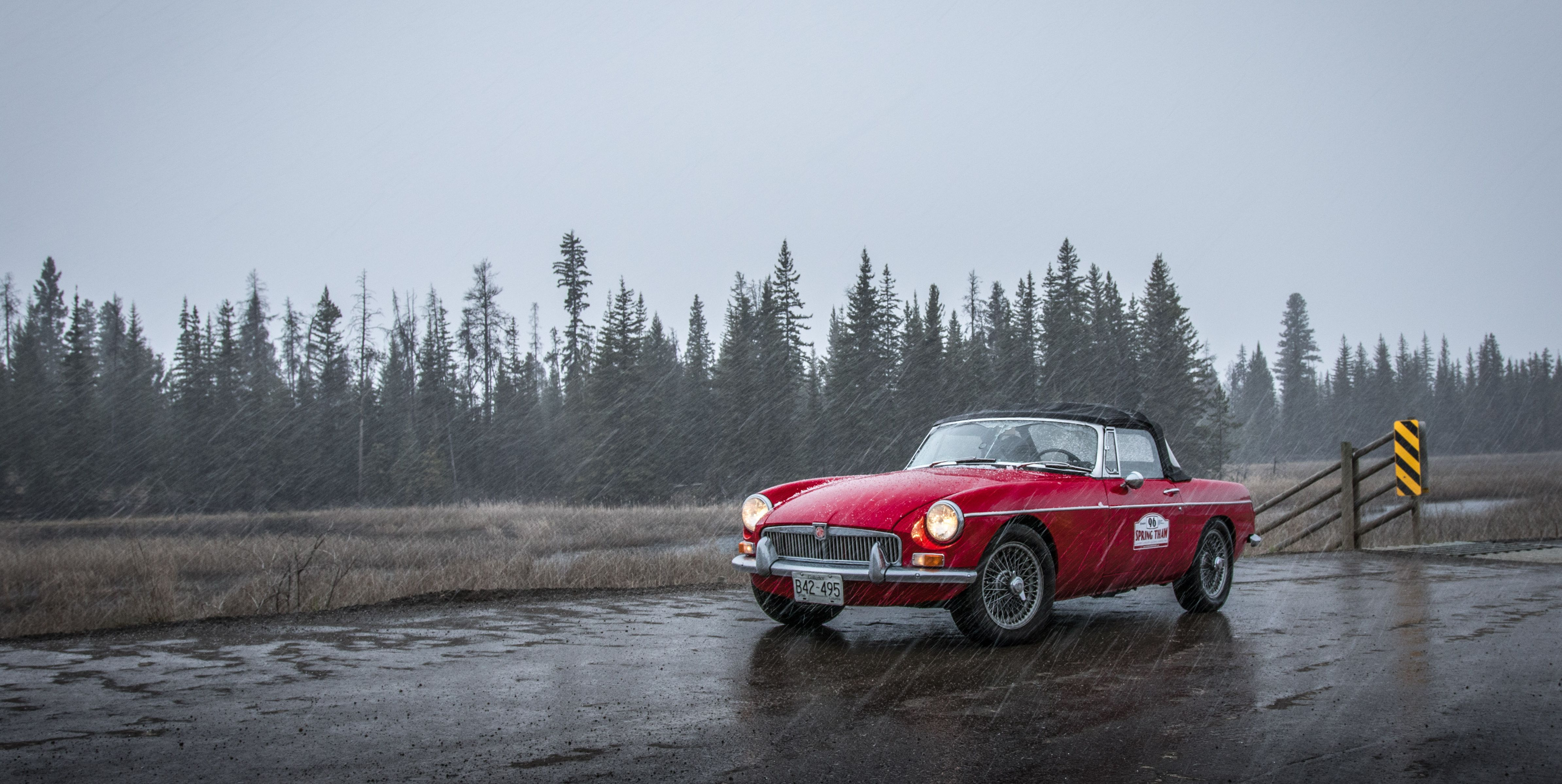 Vintage Cars Are Meant to Be Driven, Weather Be Damned