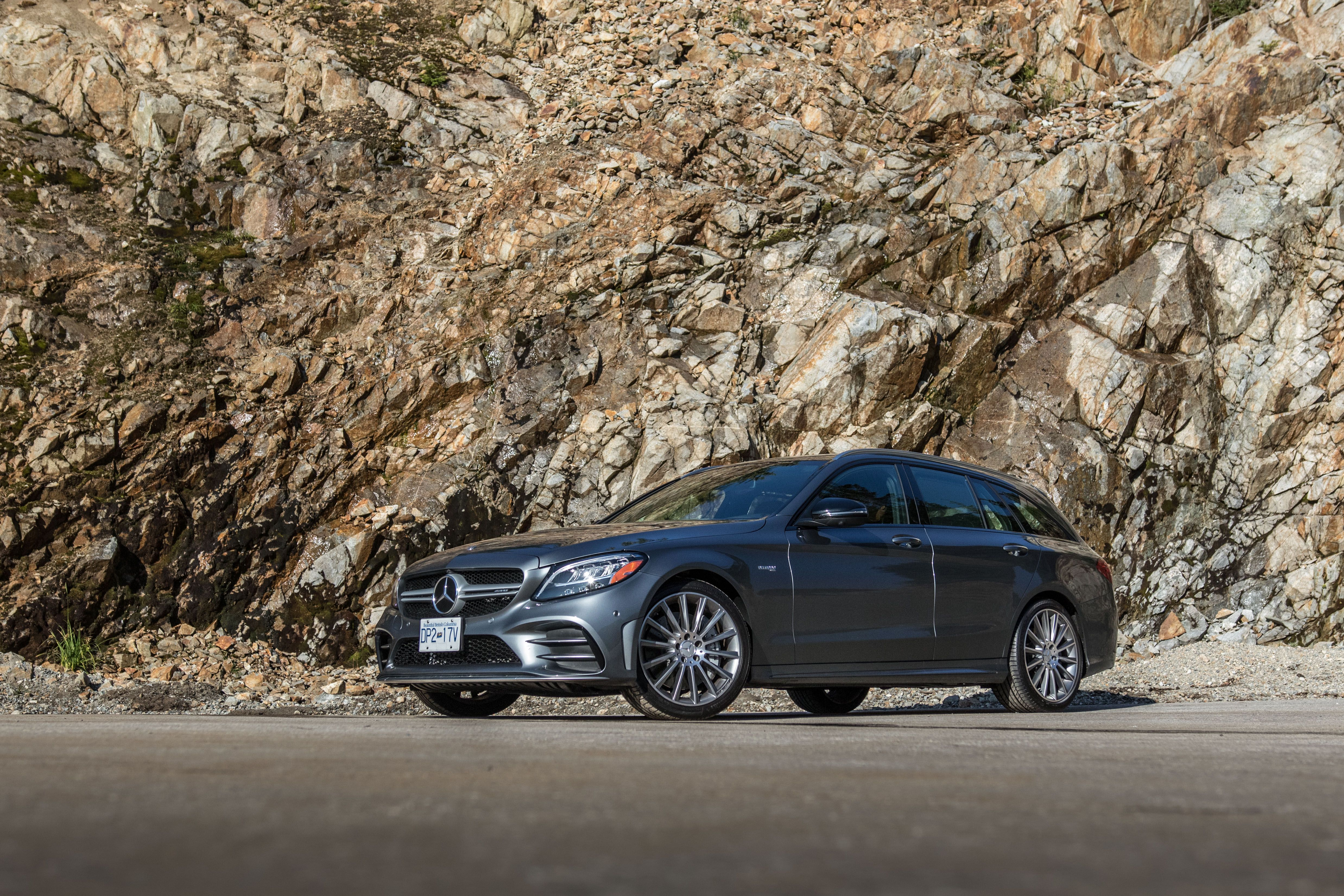 The Mercedes-AMG C43 Wagon Is Better the Faster You Drive It