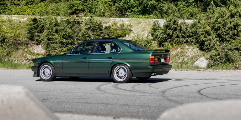 Driving the Alpina B10 BiTurbo, The World\'s Fastest Four-Door in 1991