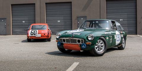 this mgb gt is the forgotten hero of sports car racing s golden age